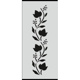 U013 Stencil 10x25 cm