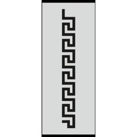U016 Stencil 10x25 cm