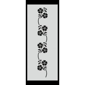 U017 Stencil 10x25 cm