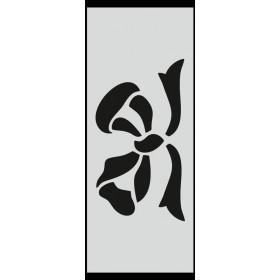 U021 Stencil 10x25 cm