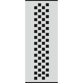 U022 Stencil 10x25 cm