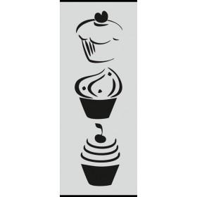 U023 Stencil 10x25 cm