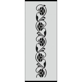 U026 Stencil 10x25 cm