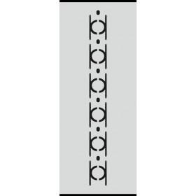 U028 Stencil 10x25 cm