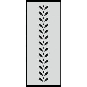 U030 Stencil 10x25 cm