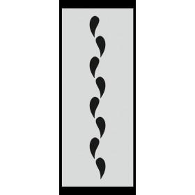 U032 Stencil 10x25 cm