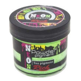 Rich NEON Toz Pigment 60cc- 11018 YEŞİL