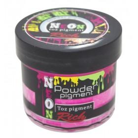Rich NEON Toz Pigment 60cc- 11019 KIRMIZI