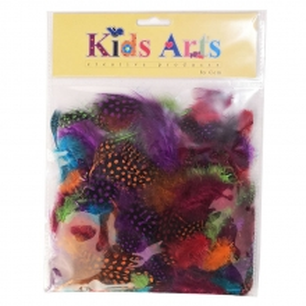 Kids Arts Renkli Tüyler HX-130708