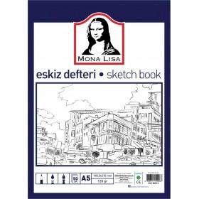 Monalisa Eskiz Defteri A5 120 g 50 yp