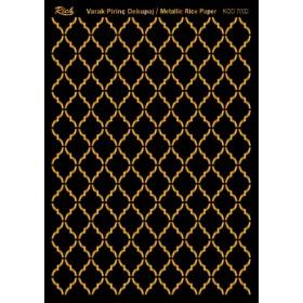 Rich Varak Soft Dekopaj Kağıdı 29x42cm - 7002 ALTIN