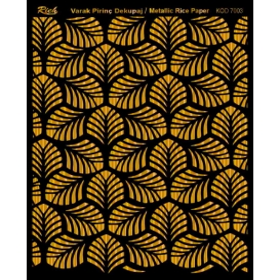 Rich Varak Soft Dekopaj Kağıdı 29x42cm - 7003 ALTIN