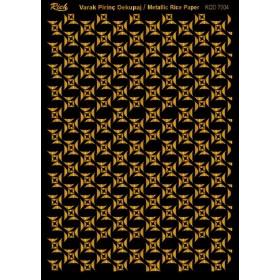 Rich Varak Soft Dekopaj Kağıdı 29x42cm - 7004 ALTIN