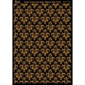 Rich Varak Soft Dekopaj Kağıdı 29x42cm - 7005 ALTIN