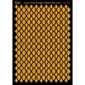 Rich Varak Soft Dekopaj Kağıdı 29x42cm - 7006 ALTIN