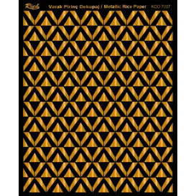 Rich Varak Soft Dekopaj Kağıdı 29x42cm - 7007 ALTIN