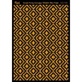 Rich Varak Soft Dekopaj Kağıdı 29x42cm - 7008 ALTIN