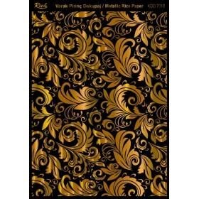 Rich Varak Soft Dekopaj Kağıdı 29x42cm - 7010 ALTIN