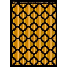 Rich Varak Soft Dekopaj Kağıdı 29x42cm - 7012 ALTIN