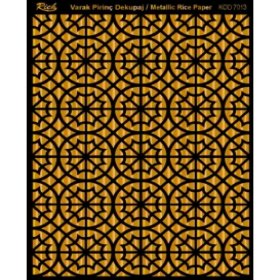 Rich Varak Soft Dekopaj Kağıdı 29x42cm - 7013 ALTIN