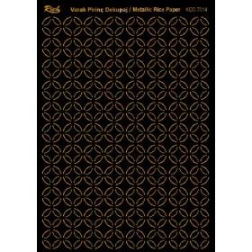Rich Varak Soft Dekopaj Kağıdı 29x42cm - 7014 ALTIN