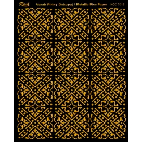 Rich Varak Soft Dekopaj Kağıdı 29x42cm - 7015 ALTIN