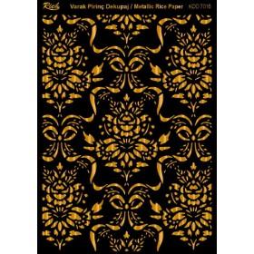 Rich Varak Soft Dekopaj Kağıdı 29x42cm - 7016 ALTIN