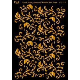 Rich Varak Soft Dekopaj Kağıdı 29x42cm - 7018 ALTIN
