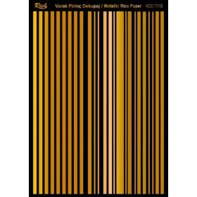 Rich Varak Soft Dekopaj Kağıdı 29x42cm - 7019 ALTIN