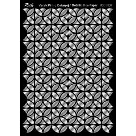 Rich Varak Soft Dekopaj Kağıdı 29x42cm - 7000 GÜMÜŞ