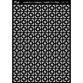 Rich Varak Soft Dekopaj Kağıdı 29x42cm - 7001 GÜMÜŞ