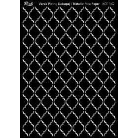 Rich Varak Soft Dekopaj Kağıdı 29x42cm - 7002 GÜMÜŞ