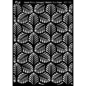 Rich Varak Soft Dekopaj Kağıdı 29x42cm - 7003 GÜMÜŞ