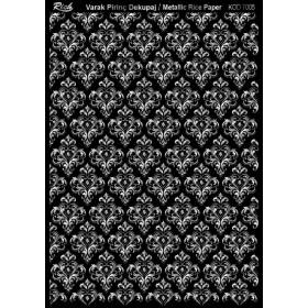 Rich Varak Soft Dekopaj Kağıdı 29x42cm - 7005 GÜMÜŞ
