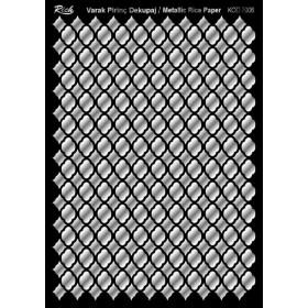 Rich Varak Soft Dekopaj Kağıdı 29x42cm - 7006 GÜMÜŞ
