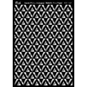 Rich Varak Soft Dekopaj Kağıdı 29x42cm - 7007 GÜMÜŞ