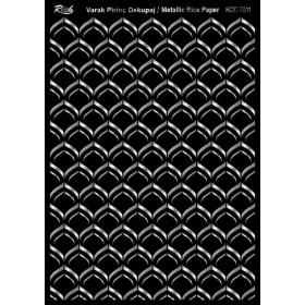 Rich Varak Soft Dekopaj Kağıdı 29x42cm - 7011 GÜMÜŞ