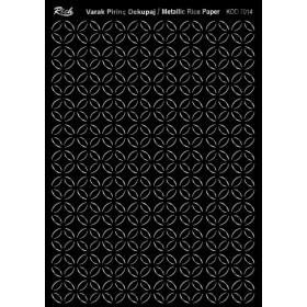 Rich Varak Soft Dekopaj Kağıdı 29x42cm - 7014 GÜMÜŞ