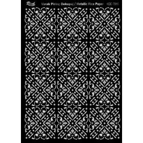 Rich Varak Soft Dekopaj Kağıdı 29x42cm - 7015 GÜMÜŞ