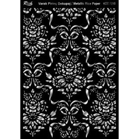 Rich Varak Soft Dekopaj Kağıdı 29x42cm - 7016 GÜMÜŞ