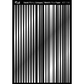 Rich Varak Soft Dekopaj Kağıdı 29x42cm - 7019 GÜMÜŞ