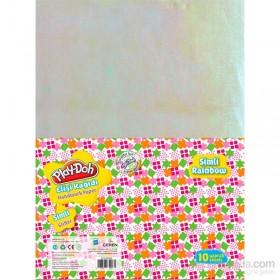 Play-Doh Simli Elişi Kağıdı Zarflı 10 Renk Model 2