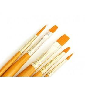 Daler Rowney Gold Taklon Synthetic 5'lı Fırça Seti - 501