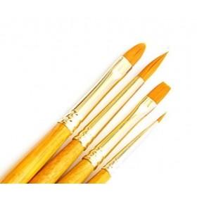 Daler Rowney Gold Taklon Synthetic 4'lü Fırça Seti - 403