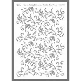 Rich Varaklı Soft Pirinç Kağıdı 29x42cm - 73018 GÜMÜŞ