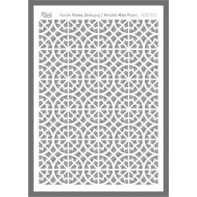 Rich Varaklı Soft Pirinç Kağıdı 29x42cm - 73013 GÜMÜŞ