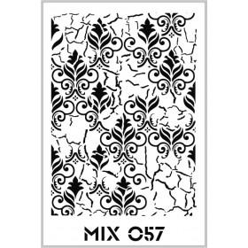 Rich Mix Stencil Şablon Özel Seri 33x48cm - MIX057