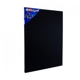 Brons Academy Siyah Tuval 35x50cm