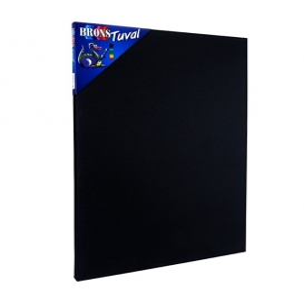 Brons Academy Siyah Tuval 50x70cm