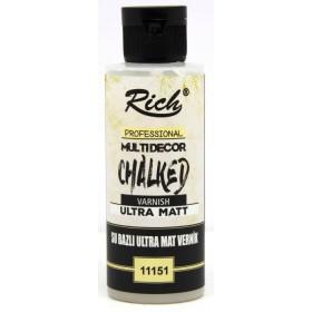 Rich ULTRA MAT Chalked Su Bazlı Vernik 130cc